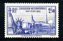 458 - 2F50 Expo NEW-YORK 1939 - Neuf N* - Ungebraucht