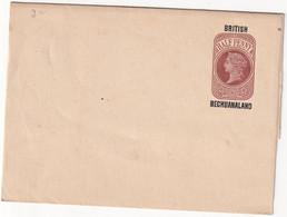 BRITSCH BECHUANALAND   ENTIER POSTAL/GANZSACHE/POSTAL STATIONARY BANDE JOURNAL - 1885-1895 Kronenkolonie