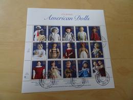 USA Michel 2857-2871 Kleinbogen Gestempelt Puppen (15841) - Hojas Bloque