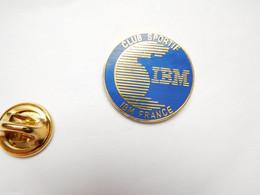 Beau Pin's En EGF , Informatique , IBM France , Club Sportif - Computers