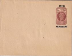BRITISH BECHUANALAND   ENTIER POSTAL/GANZSACHE/POSTAL BANDE JOURNAL - 1885-1895 Kronenkolonie