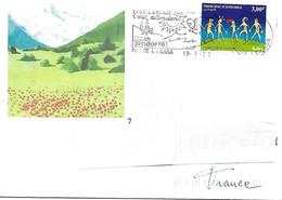 525 - CELEBRATION DE L'AN 2000, Sur Enveloppe Illustrée PAS DE LA CASAC Au 19-7-2000 - Cartas