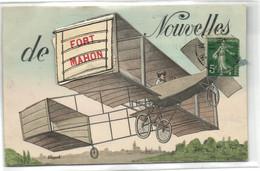 80  Somme   Carte A Système De FORT MAHON     Des Nouvelles !!! - Fort Mahon