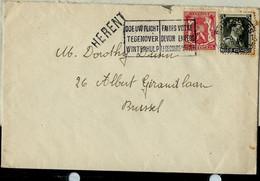 Enveloppe Obl.  Bruxelles  1941 + Griffe De HERENT - Linear Postmarks