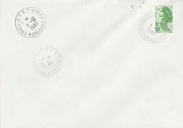 OBLITERATION C.F.R.T. BORDEAUX CEDEX 1982 - Manual Postmarks