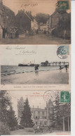 LOT DE 200 CPA TYPE PETITE CARTE  DROUILLE - Pas De Paris, Lourdes, Versailles, Mont St Michel ...  Qqes Ex En Scan  - - 100 - 499 Postkaarten