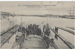 17  La Pallice -rochelle L Vue Generale Du Bassin Et Poste Des Sous-marins - La Rochelle