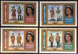 St Lucia 1978 Coronation Anniversary MNH - St.Lucia (...-1978)