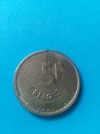 BELGIQUE - BELGIUM - 5 Francs Baudouin 1er 1987 (Belgie) - 05. 5 Francs