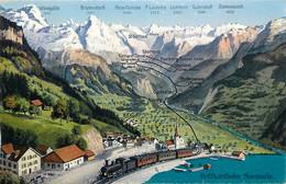 Suisse - Luzern - Gotthardbahn Nordseite - LU Lucerne