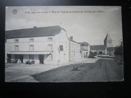Han-sur-Lesse  Rue De L'Eglise Et Chemin Du Vicinal Pour Wellin - Rochefort