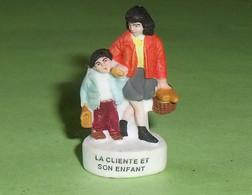"""Fèves / Personnages : La Cliente Et Son Enfant  """" Mat """"  T20 - Personajes"""
