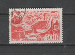 """FRANCE / 1949 / Y&T PA N° 27 : """"Vues Aériennes Stylisées"""" (Marseille) - Choisi - Cachet Rond (prob 1949) - 1927-1959 Matasellados"""