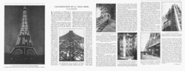 L'ILLUMINATION DE LA TOUR EIFFEL   1915 - Otros
