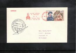 France 1971 Space / Raumfahrt Apollo 15  Tracking Station Bretigny Interesting Signed Letter - Europe