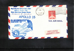 USA 1971 Space / Raumfahrt Apollo 15  Interesting Signed Letter - United States