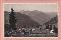 OUDE POSTKAART  ZWITSERLAND - SUISSE -   MONTZEUR - VS Valais