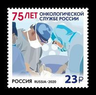 Russia 2020 Mih. 2882 Medicine. Oncology Service Of Russia MNH ** - Ungebraucht