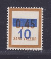FRANCE FICTIF N°  F65 ** MNH Timbre Neuf Gomme D'origine Sans Trace De Charnière, TB - Ficticios