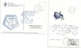 YT 216 - René Garcia - Dumont D'Urville - Terre Adélie - 01/01/1997 - FDC - Ohne Zuordnung