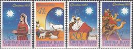 Christmas Island 1989 Christmas Michel 287-90 - Christmaseiland