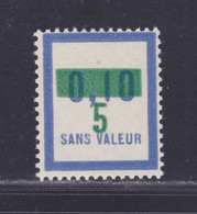 FRANCE FICTIF N°  F67 ** MNH Timbre Neuf Gomme D'origine Sans Trace De Charnière, TB - Ficticios