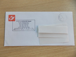 België Omslag Met Opvallende Stempel Post  Koksijde Retail - Briefe U. Dokumente