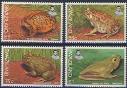 "Swaziland 1998 - Série Complète  ""Batraciens"" - Neuf ** - Frogs"
