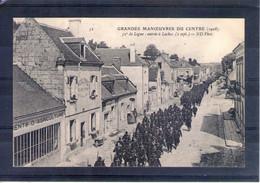 Grandes Manoeuvres Du Centre 1908. 32e De Ligne. Entrée à Loches. 2 Sept. - Manöver
