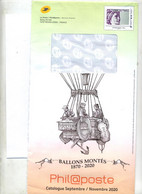 Pap Sabine Catalogue Theme Ballon + Enveloppe Reponse T - PAP : Altri (1995-...)