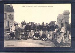 37. Saint Martin Le Beau. Grandes Manoeuvres Du Centre 1908. Groupe - Manöver