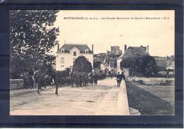41. Montrichard. Grandes Manoeuvres Du Centre 1908 - Manöver