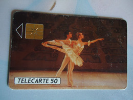 MONACO USED CARDS  MUSIC BALLET - Mónaco