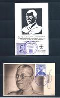 Espagne - 2 Cartes De José Antonio - Cartoline Maximum