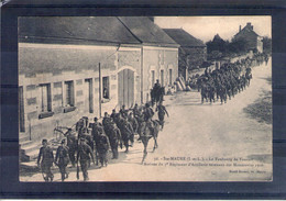 37. Ste Maure. Grandes Manoeuvres Du Centre 1908. Arrivée Du 7e Régiment D'artillerie - Manöver