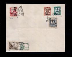 Espagne - Lettre  Du 5 Juin 1937 Aérienne Des Canaris - Unclassified