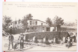 376 - PARIS - VIEUX MONTMARTRE - ANCIENNE PLACE DE L'ABREUVOIR - ACTUELLEMENT PLACE CONSTANTIN-PECQUEUR - GRAVURE - Ohne Zuordnung