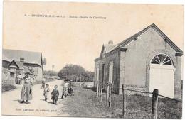 28 BRICONVILLE - Mairie - Route De Clevilliers - Animée - Autres Communes