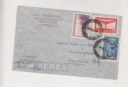 ARGENTINA 1941 Airmail Cover Via Condor-Lati Via Italia Censored To Germany - Brieven En Documenten