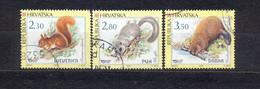 CROATIA - FUR ANIMALS - MI.NO.657/9 - KC = 2,3 € - Kroatien