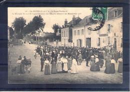 37. Ste Maure. Grandes Manoeuvres Du Centre 1908. La Musique Du 135e De Ligne - Maniobras