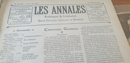 ANNALES 05/INDOCHINE FRANCAISE SAIGON ROI ANNAM HANOI PAR PAUL DOUMER - 1900 - 1949
