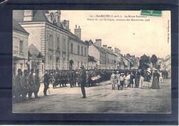 37. Ste Maure. Grandes Manoeuvres Du Centre 1908. Revue Du 135e De Ligne - Maniobras