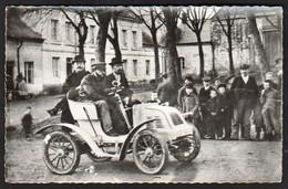 RETHEL: Plan TOP Sur La Première Voiture En 1899, En Avance De 10 Ans à L'époque: 5 Chx. Lessieux Bauchet.... - Rethel