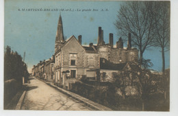 MARTIGNÉ BRIAND - La Grande Rue - Sonstige Gemeinden