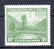 CHILI. N°292 De 1962. Vallée Du Rio Maule. - Chile
