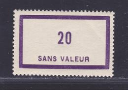 FRANCE FICTIF N° F101 ** MNH Timbre Neuf Gomme D'origine Sans Trace De Charnière, TB - Phantomausgaben