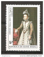 GUINEA-BISSAU - 1984 COELLO Infanta Isabel Clara Eugenia D'Asburgo (Museo Del Prado, Madrid) Nuovo** MNH - Otros