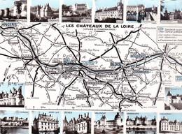 LOT DE 60 CARTES POSTALES   CIRCUIT TOURISTIQUE DEPARTEMENT REGION - 5 - 99 Postkaarten