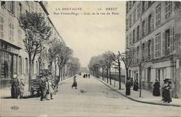 BREST, Rue Victor Hugo - Coin De La Rue De Paris - Brest